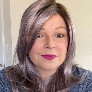 Miranda Wig by Jon Renau Flurry plum colour!